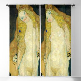 "Gustav Klimt ""Adam and Eve"" Blackout Curtain"