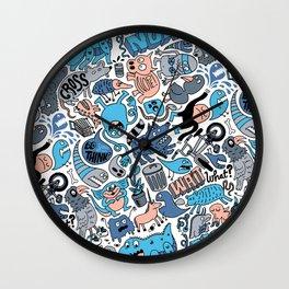 Gross Patten Now Wall Clock