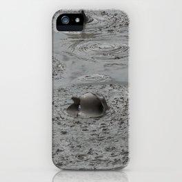 Bald Head Hot Mud Bubble iPhone Case