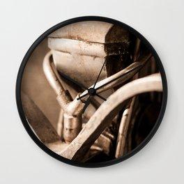 Industrial Old Motor Wall Clock