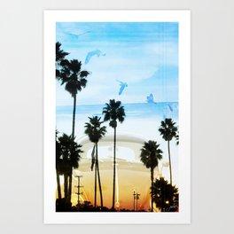 Cali Buggin Art Print