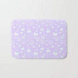 Herb Witch // Purple Pastel Bath Mat