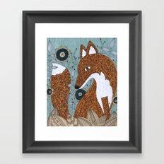 The Secret Visitor Framed Art Print