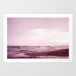 Violet magic Art Print
