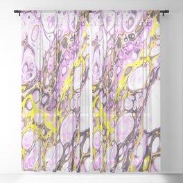 Sprung Sheer Curtain