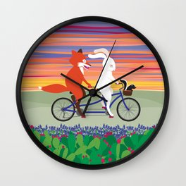 Hill Country Joyride Wall Clock