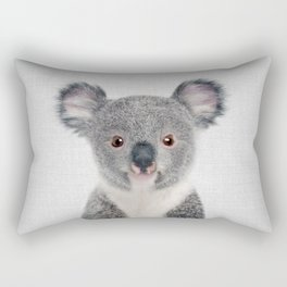 Baby Koala - Colorful Rectangular Pillow
