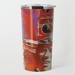 Labour communist propaganda in soviet union cccp sssr Travel Mug