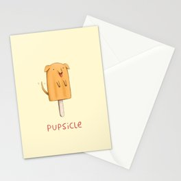 Pupsicle Stationery Cards