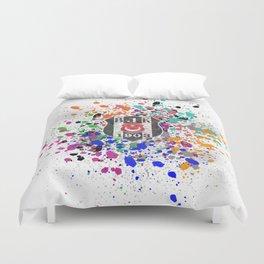 Watercolor Besiktas jk Duvet Cover