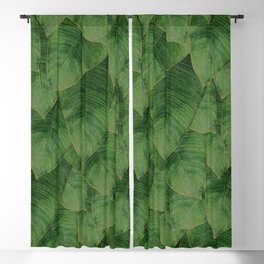 Banana Leaf III Blackout Curtain