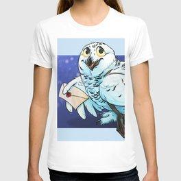 Snowy Owl Messenger T-shirt