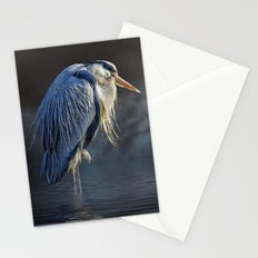 Blue Heron Moon Stationery Cards