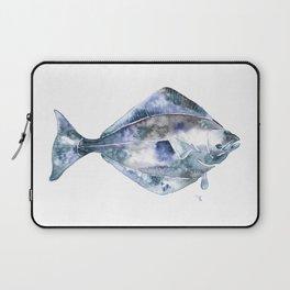 Flat Fish Watercolor Laptop Sleeve