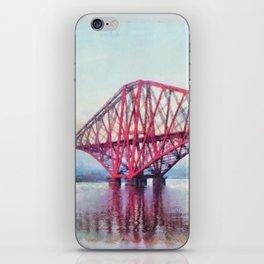 Forth Bridge, Scotland iPhone Skin