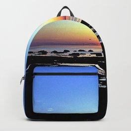 Wonderful Sunset Seascape Backpack