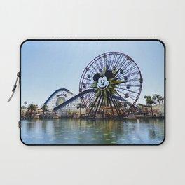 Paradise Pier - Mickey Ferris Wheel (Daytime no.2) Laptop Sleeve