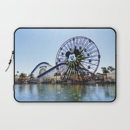Paradise Pier - Mickey Ferris Wheel (Daytime no.2) Laptop Sleeve