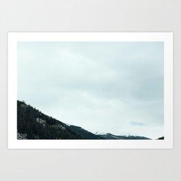 Mountains 02 Art Print