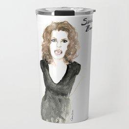 Sandra portrait Travel Mug