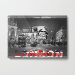 Piccadilly Circus London Metal Print