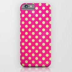 Cool polka dots iPhone 6 Slim Case
