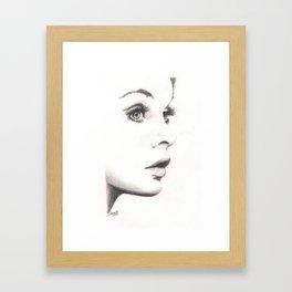 the shrimp... Framed Art Print