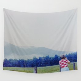Looking Wall Tapestry