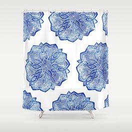 knitwork iii Shower Curtain