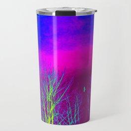 Magenta Sky Travel Mug