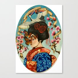 The Exploitation of Butterfly Canvas Print