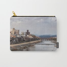 Urban landscape in Kyoto Carry-All Pouch