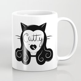 Catty Coffee Mug