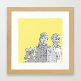 Charlie D Framed Art Print