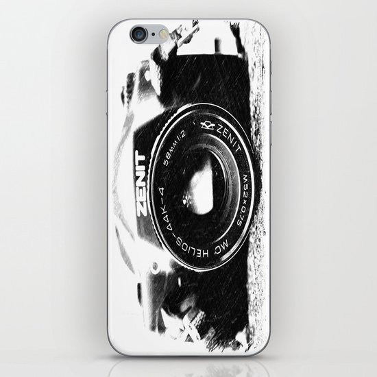 Basic is better iPhone & iPod Skin