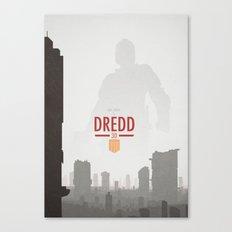 Dredd (2012) Canvas Print