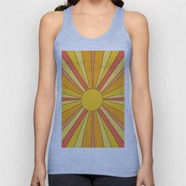Sun rays Unisex Tank Top