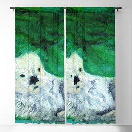 Otter Delights Blackout Curtain