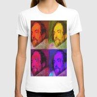 van T-shirts featuring Van Dyck  by Joe Ganech