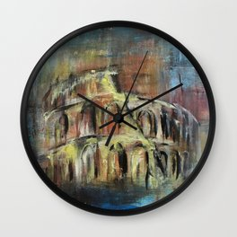 Abstract Rome Wall Clock