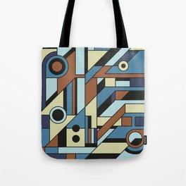 De Stijl Abstract Geometric Artwork 3 Tote Bag