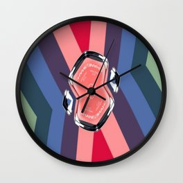 CC No.5 Pinwheel 2 Wall Clock