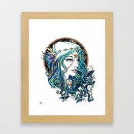 Sailor Aluminium Siren - Sailor Moon Fanart Framed Art Print