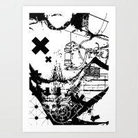 die mensch maschine #1 Art Print