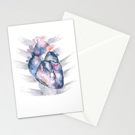 Universal Heart Stationery Cards