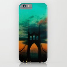 Bridge to Portland - St. Johns - On a Warm October Evening Slim Case iPhone 6