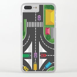 Streetview Clear iPhone Case