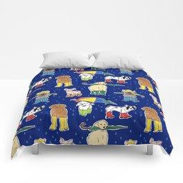 It's Raining Dogs + Dogs Comforters