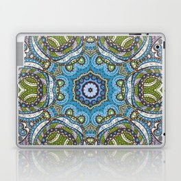 Kaleidoscope Pattern 4 Laptop & iPad Skin