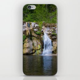 Summer cascade iPhone Skin